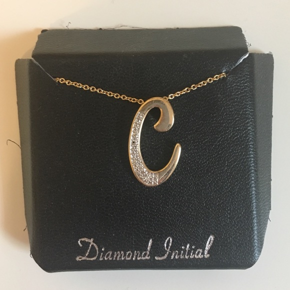 Jewelry - C Initial Necklace